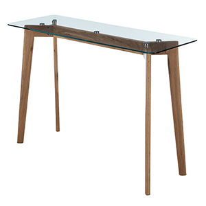 Uptown Glass Console Table