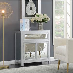 Vivian Silver Vineyard Mirrored Hall Table