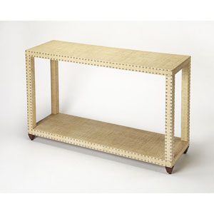 Selby Beige Console Table