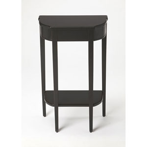Evelyn Black Console Table