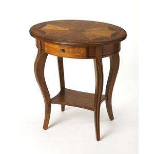 Wellington Medium Brown Accent Table