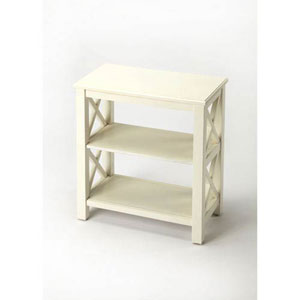 Grace White Bookcase