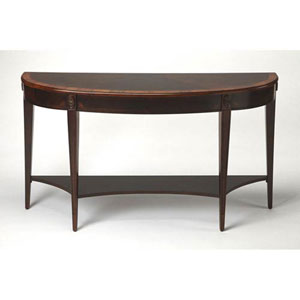 Wellington Dark Brown Console Table