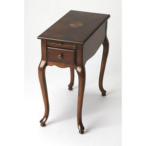 Wellington Dark Brown Side Table