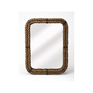 Fulton Brown Wall Mirror