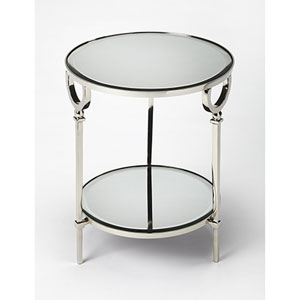 Vivian Silver End Table