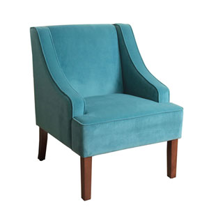 Cooper Teal Accent Chair