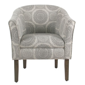 Nicollet Grey Accent Chair