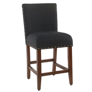 Selby Deep Navy Counter Stool