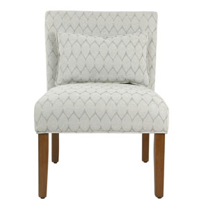 Loring Honey Oak Accent Chair