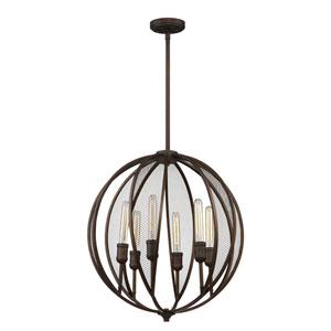 Nicollet Bronze Six-Light Chandelier