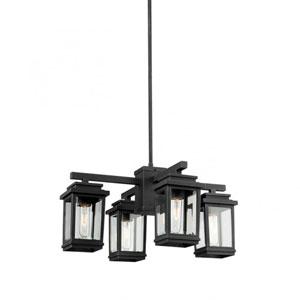 Kenwood Bronze Four-Light Outdoor Chandelier