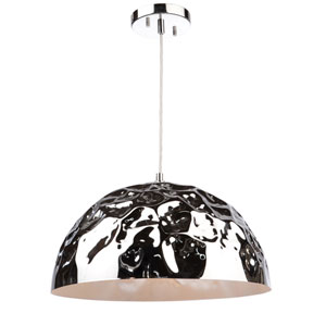 Nicollet Chrome One-Light Pendant