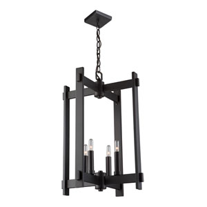 Uptown Oil Rubbed Bronze Four-Light Pendant
