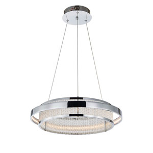 Nicollet Chrome One-Light LED Pendant