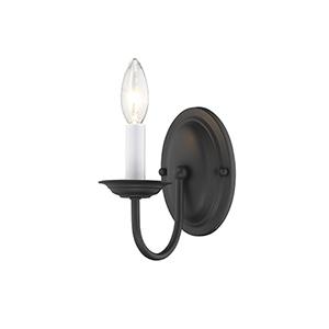 Belmont Black One-Light Mini Pendant