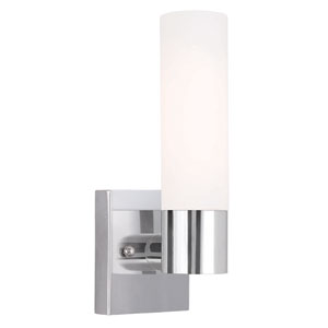 Essex Chrome Five-Inch One-Light Tall ADA Bath Sconce