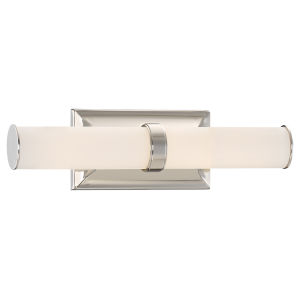 Essex Brushed Nickel 16-Inch One-Light Bath Bar Vanity Light