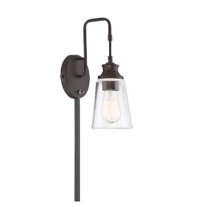 Anna Oil Rubbed Bronze One-Light Wall Sconce