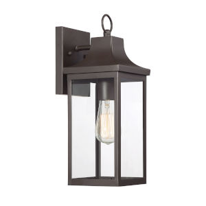 Belmont Oil Rubbed Bronze One-Light Outdoor Wall Sconce