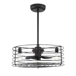 Knox Oil Rubbed Bronze Three-Light LED Fandelier