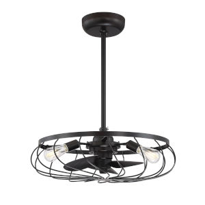Hayes Oil Rubbed Bronze Three-Light LED Fandelier
