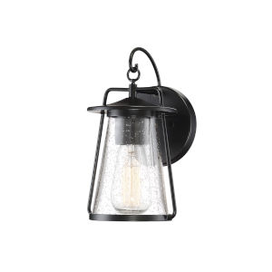 Howe Matte Black One-Light Outdoor Wall Sconce