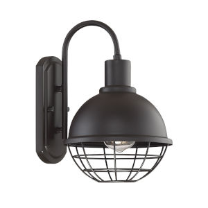Austin Oil Rubbed Bronze One-Light Outdoor Wall Sconce