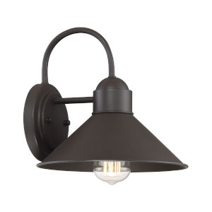 Revolution Oil Rubbed Bronze One-Light Outdoor Wall Sconce