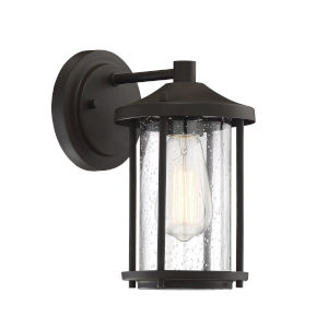 Castor Oil Rubbed Bronze One-Light Outdoor Wall Sconce