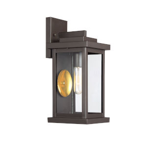 Madison Oil Rubbed Bronze One-Light Outdoor Wall Sconce