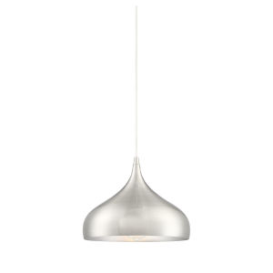 Fredrick Brushed Nickel One-Light Pendant