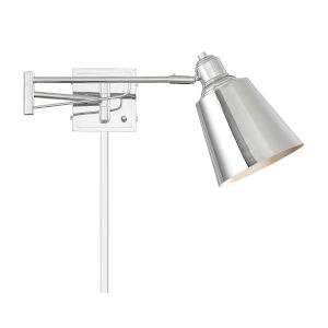 Essex Chrome One-Light Adjustable Wall Sconce