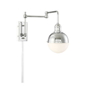 Artemis Chrome One-Light Wall Sconce