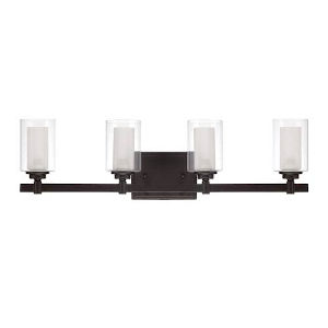Ava Espresso Four-Light Bath Vanity