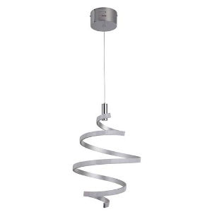 Pax Silver and Chrome LED Pendant