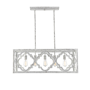 Hazel Charisma 14-Inch Five-Light Linear Chandelier