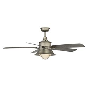 Revolution English Bronze 52-Inch One-Light Ceiling Fan