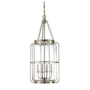 Hayes Noble Brass Four-Light Pendant