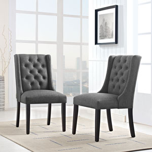 Selby Gray Dining Chair, Set of Two