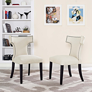 Cooper Beige Dining Chair, Set of Two