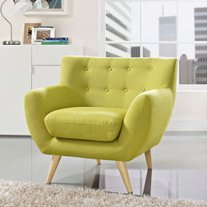 Nicollet Wheat Grass Natural Color Rubber Wood Arm Chair