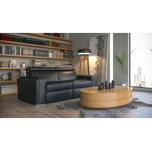 Loring Black 82-Inch Motorized Sofa