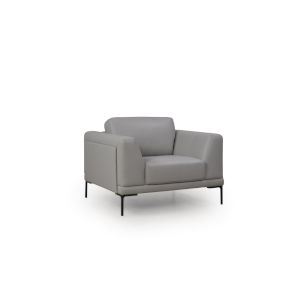Uptown Gray 42-Inch Chair