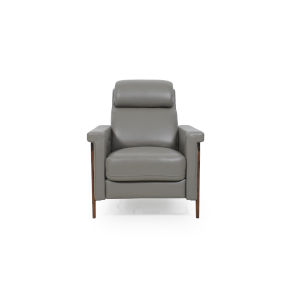 Uptown Gray 32-Inch Reclining Chair