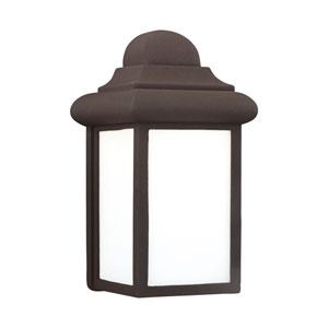 Eloise Bronze 6-Inch One-Light Outdoor Wall Lantern