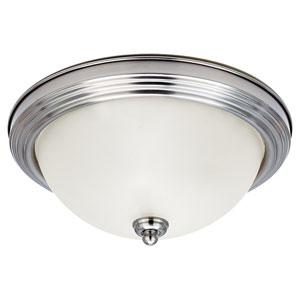 James Brushed Nickel Flush Mount Ceiling Light