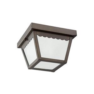 Claire Antique Bronze Energy Star LED Outdoor Flush Mount