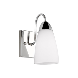 Nora Chrome One-Light Wall Sconce
