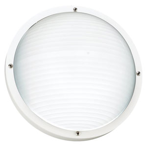 Austin White Outdoor Wall Lantern